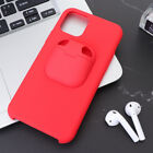 1PC 2-in-1 Durable Phone Case Earbud Case Compatible with Air Pods iPhone 11 Pro