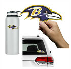 Baltimore Ravens Vinyl Decal Sticker Small / Large Sizes 2 Inch to 46 Inches $4.95 USD on eBay