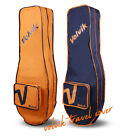 VOLVIK Golf Travel Cover Case Luggage Flight Cover Carry Bag Orange / Navy