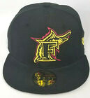 New Era Florida Marlins Hat 59Fifty MLB Cap League Fitted Hat cool New