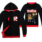 ROBLOX Spring and Autumn Boys Jacket Kids Child Sweatshirts  Hoodies Wear Coat