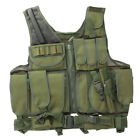 Tactical Vest Adjustable Military Army Molle Combat Airsoft Hunting US SellerChest Rigs & Tactical Vests - 177891