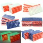 100pcs Soft Darts Round Head Bullets Blasters For N-strike Toy Guns 5colors
