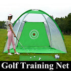 1/3m Foldable Golf Hitting Driving Cage Practice Net Indoor Outdoor Training Aid