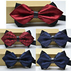 51 Colors Bow Tie Groom Wedding Double Layer Bow Fashion Men's Business Bow Tie $5.79 USD on eBay