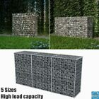 Garden Gabion Basket Wire Outdoor Patio Retaining Wall Steel Fencing 5 Sizes