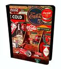 Vintage Coca Cola Old Designs Poster Happy Holidays Flip Leather Case For iPad £14.99  on eBay