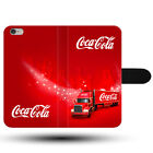 Christmas Truck Coca Cola New Year Holidays Clasp Holder Fabric Phone Case Cover £10.99  on eBay
