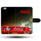 Christmas Truck Coca Cola London Bridge Clasp Holder Fabric Phone Case Cover £8.99  on eBay