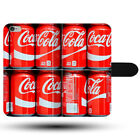 Coca Cola Small Cans Pallet Pack Bottle Clasp Holder Fabric Phone Case Cover £9.49  on eBay
