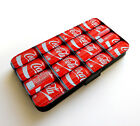 Coca Cola Small Cans Pallet Pack Bottle Pattern Wallet Leather Phone Case £10.99  on eBay
