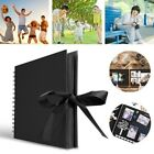 Photo Album Scrapbook Craft Picture Book Memory Anniversary 30Pages With Bowknot