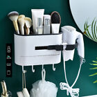 hair dryer storage rack holder wall mounted comb stand bathroom bedroom supplies
