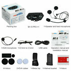 2000M Bluetooth Intercom Motorcycle Helmet Stereo Headset Interphone M1-S PRO UK