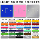1 Light Switch Stickers Stickers Vinyl / Skin Cover Decal Sockets Power Decor