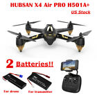 Hubsan X4 H501A PRO FPV APP Quadcopter 1080P 5.8G Drone w/ Waypoint +2Batteries