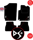 Citroen Ds3 2009 To 2018 Tailored Carpet Car Floor Mats With Logo & Fixing Clips