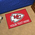 Kansas City Chiefs She Cave Woman Cave Rug NFL FANMATS Valentines Day $24.99 USD on eBay