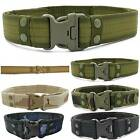 Men Adjustable Tactical Military Army Belts Hunting Waist Buckle Belt Waistband
