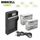 2X 1400mAh NB-10L Battery / LCD Charger for Canon Powershot SX50 HS SX40 G15 G1X