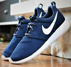Nike Roshe One GS - New Youth Boy's Grade School Shoes Navy Blue 599728 423