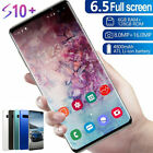 "6.5"" S10 Smart Mobile Phone Face Id/fingerprint Unlocked 2 Sim Android 9.1"