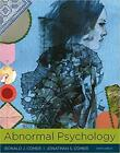 Abnormal Psychology 10e by Ronald J. Comer (2017, Hardcover)