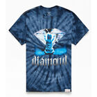 "Diamond Supply Co ""Apparition Tie Dye"" Short Sleeve Tee (Blue) Graphic T-Shirt"