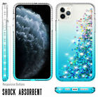 For iPhone 11 Pro/11 Pro Max Bling Phone Case + Full Cover Camera Lens Protector
