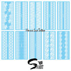 White Henna Lace on Armband Wristband Thighband Waterproof Tattoo Stickers $2.22 USD on eBay