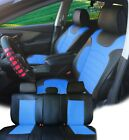 PU Leather Car 5 Seats Covers Cushion 9 Pieces Front & Rear Dodge 88255 Bk/T $94.95 USD on eBay