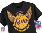 Kobe Bryant Los Angeles Lakers Black Mamba LOGO T-Shirt