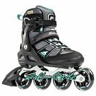 Rollerblade Macroblade 80 ALU Women's Inline Skates, Black/Light Green