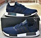 Adidas NMD R1 - New Men's Navy Blue Boost Shoes EG7185 Sneakers