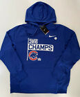 Nike Men's Therma Dri-Fit Chicago Cubs MLB 2016 World Series Hoodie Blue XL 2XL on Ebay