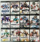 Football games  (Playstation 2) Ps2 Tested Madden ESPN