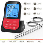 BBQ Meat Grill Thermometer Wireless Remote Digital Cooking Food Thermometer