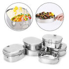 Lunch Box Stainless Steel Bento Case Food Storage Container Picnic Snack Packer