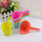 EE_ AM_ DOG CAT PUPPY FOOD SCOOP SPADE PET SSOLID COLOR POON FEEDING ACCESSORIES