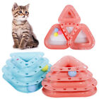 EE_ CO_ 3-Layer Ball Turntable Interactive Track Cat Dog Play Toys Pet Supplies