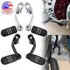 """New Long Highway 1-1/4"""" Bars Foot Pegs For Harley Electra Road King Street Glide $52.07 USD on eBay"""
