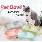 Feeder Pets Supplies Dog Cat Pet Bowls Water Food Dish Double Feeding Drinking