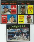2020 Topps Heritage Base #1-250 First Half Complete Your Set - You Pick!