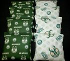 VINTAGE MILWAUKEE BUCKS MENS BASKETBALL CORNHOLE BEAN BAGS 8 ACA Handmade Bags! on eBay