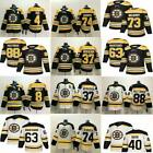 Boston Bruins Hockey Jerseys 33 Zdeno Chara 8 Cam Neely 88 David Pastrnak S- 3XL $43.95 USD on eBay