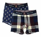 Psycho Bunny Men's Comfort Knit Boxer Brief Gift Set - Pack of 2