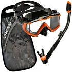Cressi-Pano-3-Mask-Supernova-Dry-Adult-Size-Snorkel-Combo-Carring-Bag-Packages
