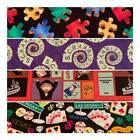 Novelty Hobby, Game and Card Fabric, 18 Varieties, $1.99 - $2.50 1/2 Yard $2.5 USD on eBay