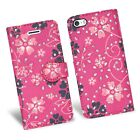 FOR APPLE IPHONE 5C & MANY WALLET BOOK FLIP PHONE SAFE CASE COVER CARD SLOTS