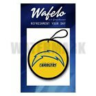 Wafelo Air Freshener Custom Los Angeles Chargers NFL Car And Home Fragrances $15.03 USD on eBay
